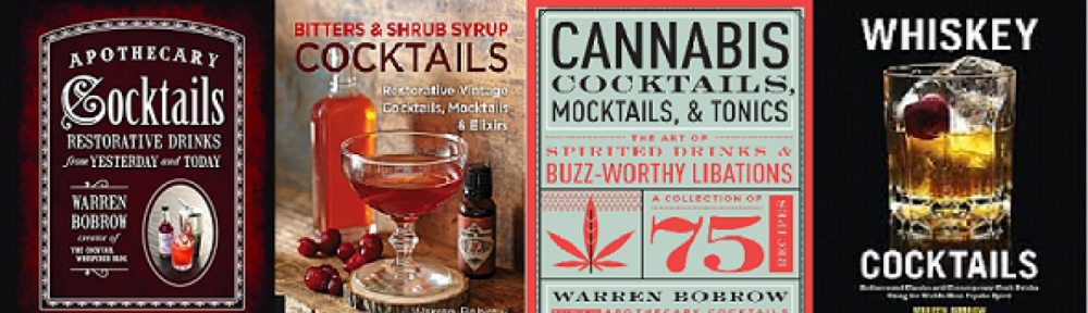 Author of Apothecary Cocktails, Bitters and Shrub Syrup Cocktails, Whiskey Cocktails & Cannabis Cocktails